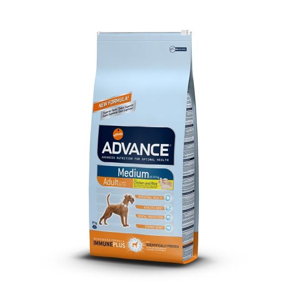 Advance Hundefutter Adult Medium - 14kg
