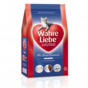 Wahre Liebe Katzenfutter Für graue Eminenzen