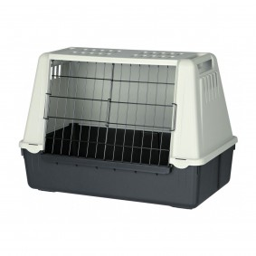 Trixie Traveller 72 Hundebox grau/schwarz