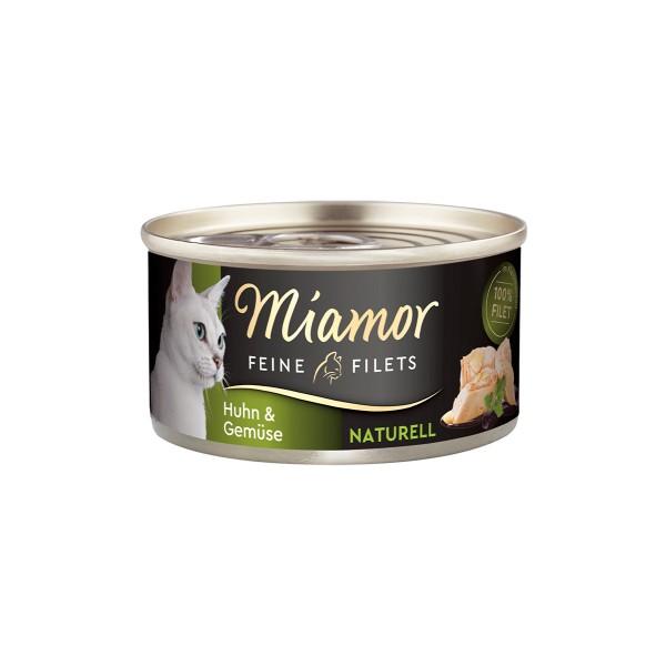 Miamor Feine Filets Naturell Huhn & Gemüse