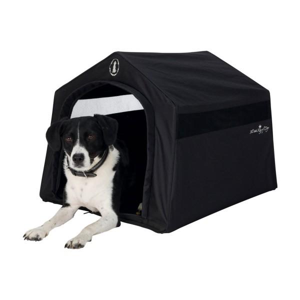 Trixie Hundekönig Indoor-Hütte 59×54×70cm schwarz