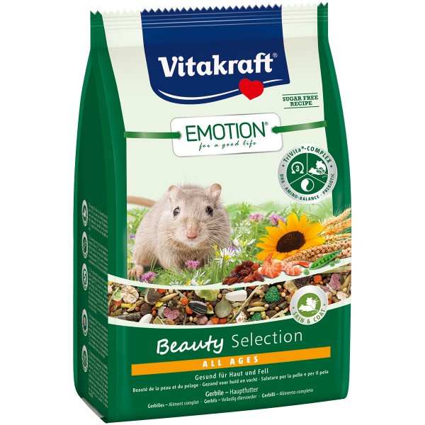 Vitakraft Emotion Beauty Selection Gerbil 300g