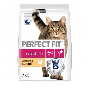 Perfect Fit granule bohaté na kuřecí pro dospělé kočky