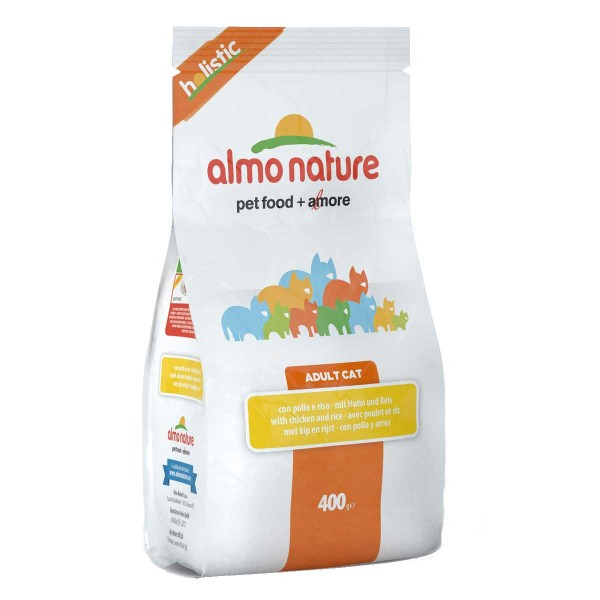 Almo Nature Holistic Cat Huhn+Reis - 400g