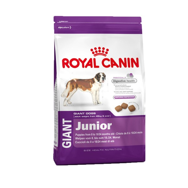 royal canin hundefutter giant junior g nstig kaufen bei. Black Bedroom Furniture Sets. Home Design Ideas