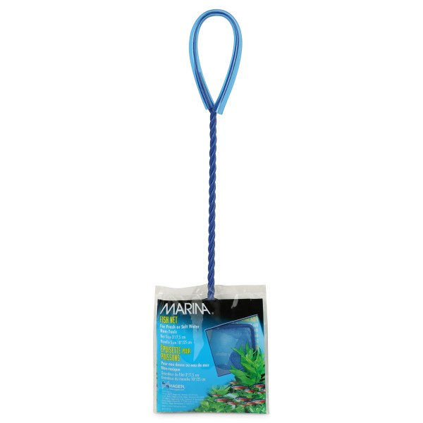 Hagen Fischfangnetz blau 7,5-25cm