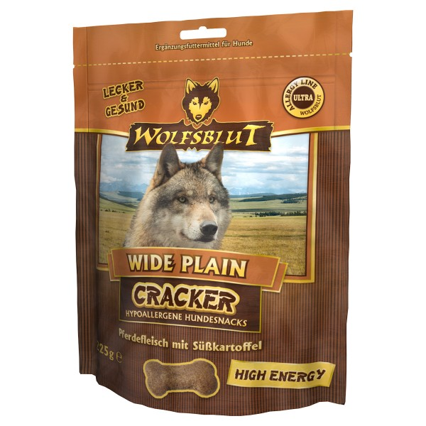 Wolfsblut Cracker Wide Plain High Energy Pferd