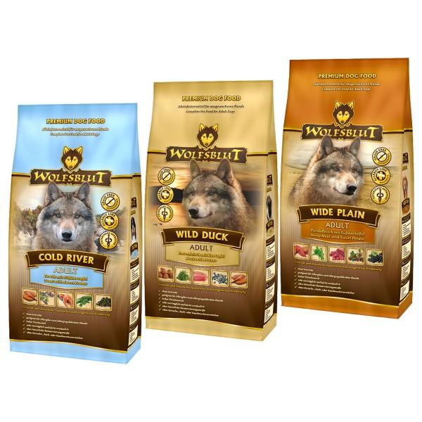 Wolfsblut Trockenfutter Mixpaket 3x500g
