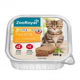 ZooRoyal Junior-Pastete reich an Geflügel
