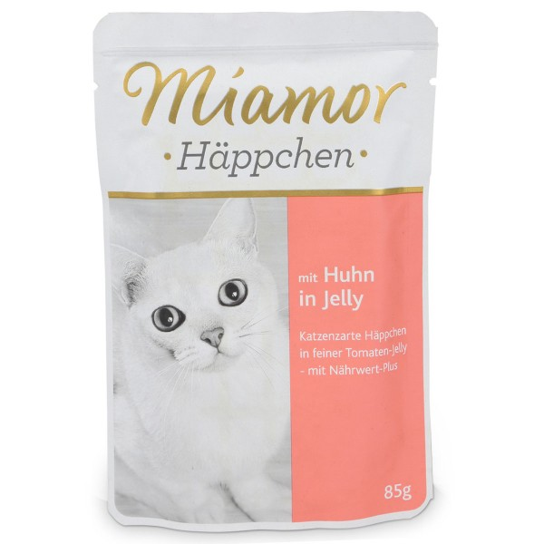 Miamor Häppchen Huhn in Tomatenjelly