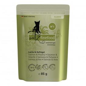 catz finefood - No. 5 Lachs 16x85g