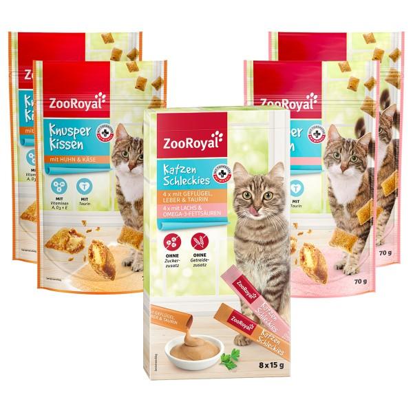 ZooRoyal Snack Paket für Katzen