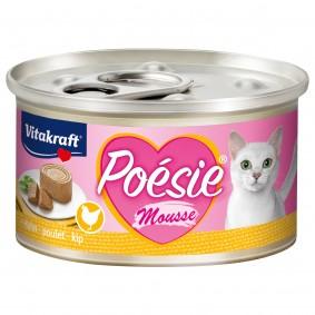 Vitakraft Katzenfutter Poésie Mousse Huhn 12x85g