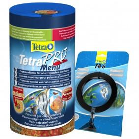 Tetra Zierfischfutter Pro Menu 250ml + Tetra FR 6 Futtering
