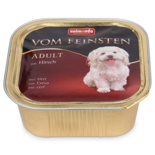 Animonda Hundefutter Vom Feinsten Adult mit Hirsch - 150g