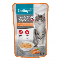 ZooRoyal Delikate Suppe Hühnerbrustfilet und Karotte
