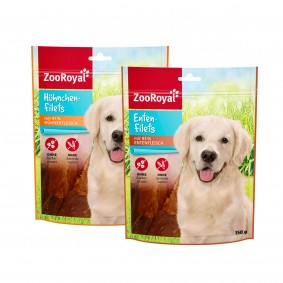 ZooRoyal Hundesnack Filets 6x150g
