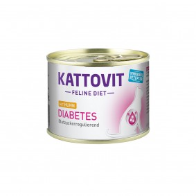 Kattovit Feline Diet Diabetes Huhn