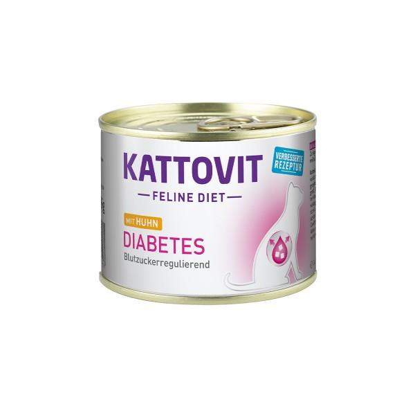Kattovit Feline Diet Diabetes Huhn