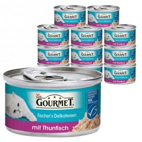 Gourmet Katzenfutter Fischer's Delikatessen 12x85g