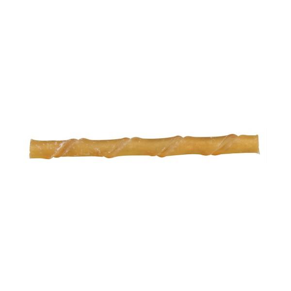 100 bâtonnets à mâcher en cuir brut torsadé ø 9 - 10 mm