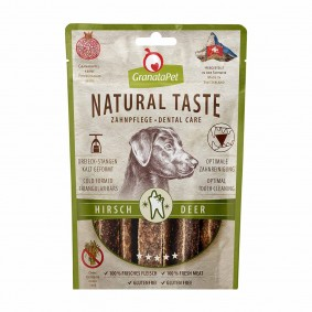 GranataPet Natural Taste Dental Care Hirsch