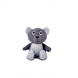 ZooRoyal Hundespielzeug Bär anthrazit & grau
