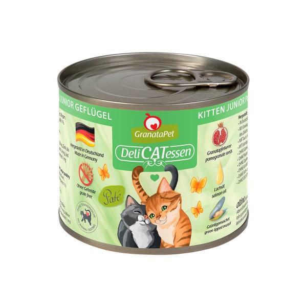 GranataPet Katze - Delicatessen Dose Kitten Geflügel