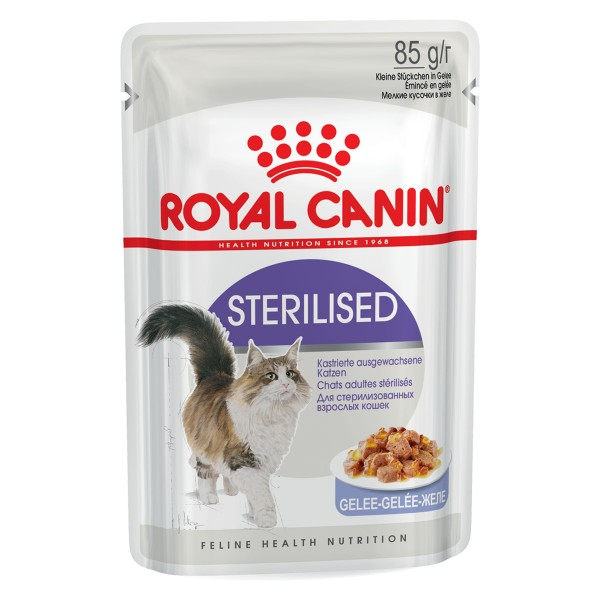 Royal Canin Katzenfutter Sterilised in Gelee 85g