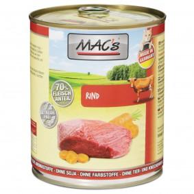 MAC's Cat Nassfutter Fleischmenü mit Rind
