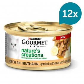GOURMET Nature's Creations reich an Truthahn