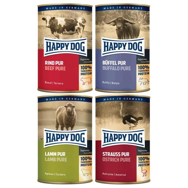 Happy Dog Pur 48x400g Mixpaket