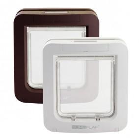 katzenklappen mikrochip katzenklappe kaufen bei zooroyal. Black Bedroom Furniture Sets. Home Design Ideas