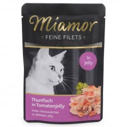 Miamor Katzenfutter Feine Filets Thunfisch in Tomatenjelly