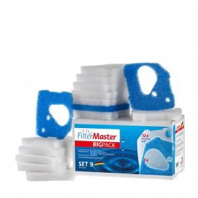Filtermaster Filtermedien BigPack Set 9 für Eheim Professionel 4+ und 4e+