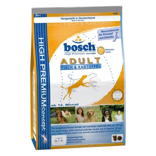 bosch Tiernahrung Bosch Adult Fisch & Kartoffel Hundefutter - 1kg