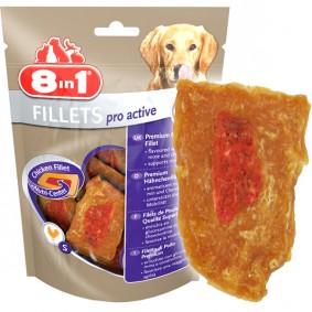 8in1 Fillets Pro - pro active- snack à mâcher pour chiens actifs