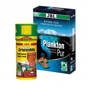 JBL Sparbundle Novo GranoMix Click 250ml + PlanktonPur S 8x2g
