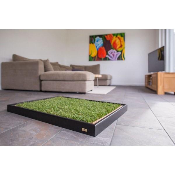 carnilo holzrahmen f r hundeklo standard schwarz bei zooroyal. Black Bedroom Furniture Sets. Home Design Ideas