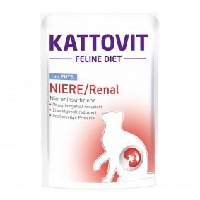 KATTOVIT Feline Diet Niere/Renal mit Ente
