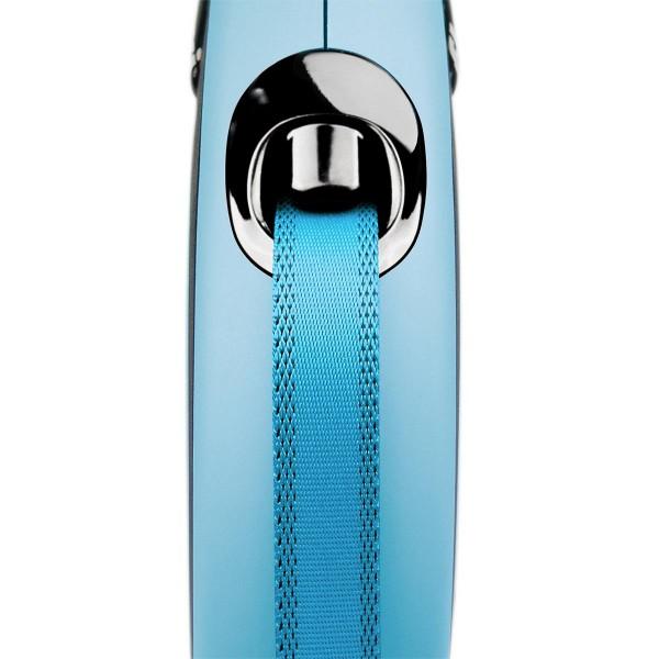 flexi New Comfort Gurtleine blau