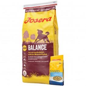 Josera Balance 15kg + Josera Knuspies 1,5kg GRATIS