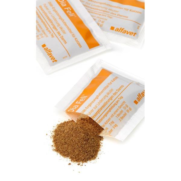 Alfavet Dia Feli® Diät Ergänzungsfuttermittel Pulver für Katzen