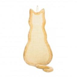 Trixie Kratzbrett Katze 35×69cm - beige