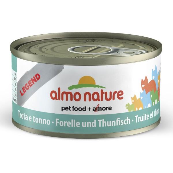 Almo Nature Legend Katzenfutter 24x70gForelle & Thunfisch