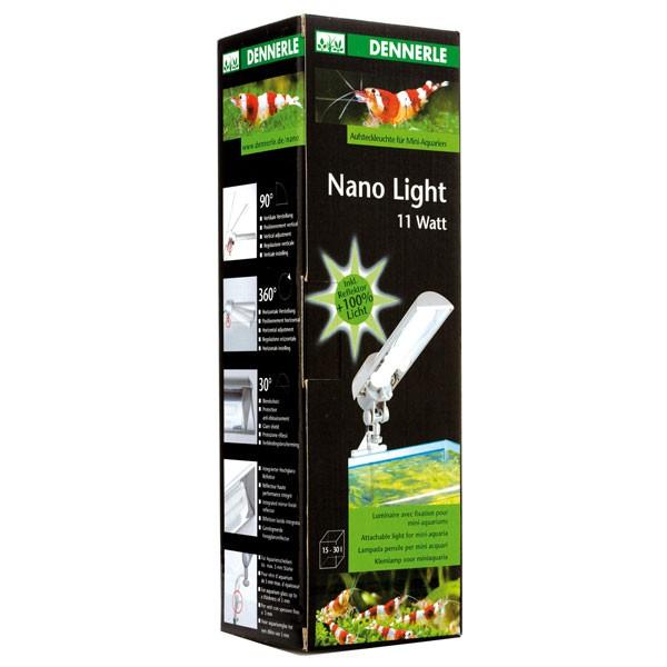 Dennerle Nano Light 11 W Aufsteckleuchte für Mini-Aquarien