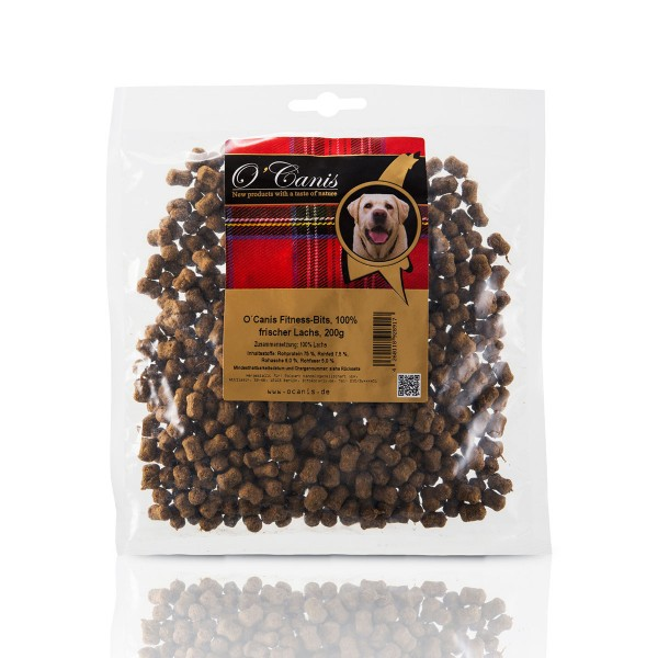 O'Canis Hundesnack Fitness-Bits Lachs 200g