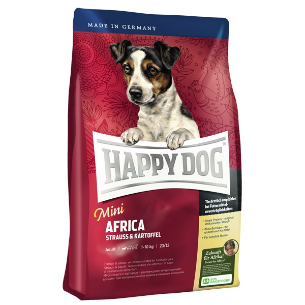 Interquell Happy Dog Hundefutter Mini Africa - 4 kg 44101203