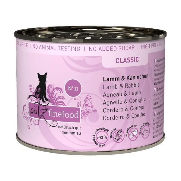 catz finefood - No. 11 Lamm & Kaninchen
