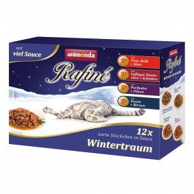 Animonda Rafiné Wintertraum 12x100g Mixpack